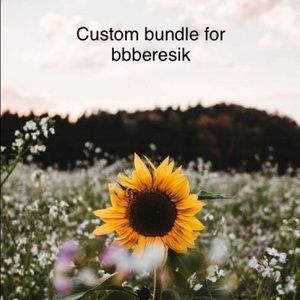 Custom bundle